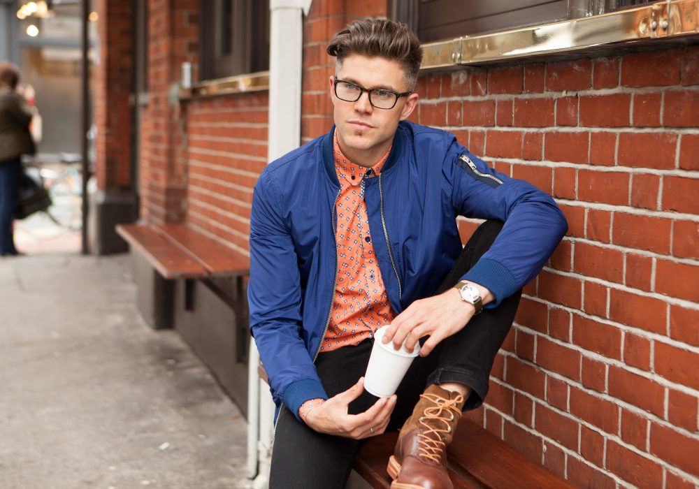 Darren Kennedy's 3 Ways to Wear…Orange