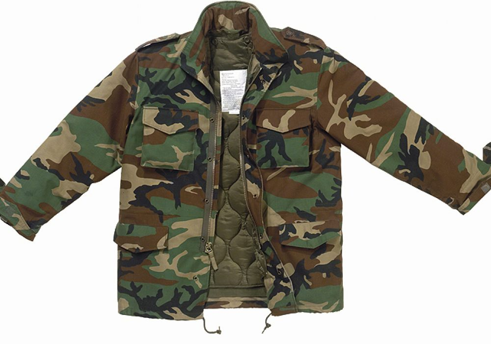 Camo Field Jacket Casual Style