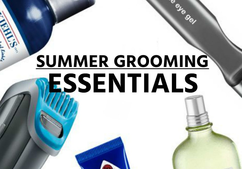 Men's Summer Grooming Essentials